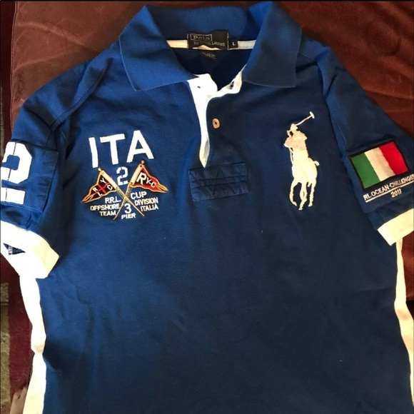 Polo Ralph Lauren Italy Ocean Challenge size L. M 5a59267350687c87b49210ad eb316efba2a7